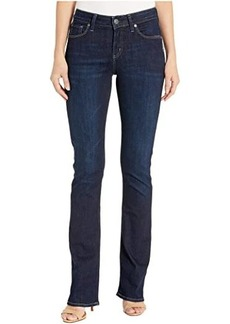 Silver Jeans Avery High-Rise Curvy Fit Slim Bootcut Jeans in Indigo