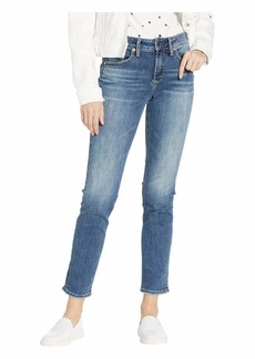 Silver Jeans Avery High-Rise Curvy Fit Slim Leg Jeans in Indigo L94317SSX206