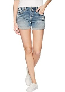 Silver Jeans Boyfriend Mid-Rise Shorts L53608SJL268