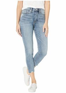 Silver Jeans Calley Super High-Rise Curvy Fit Skinny Crop Jeans in Indigo L49901SSX240
