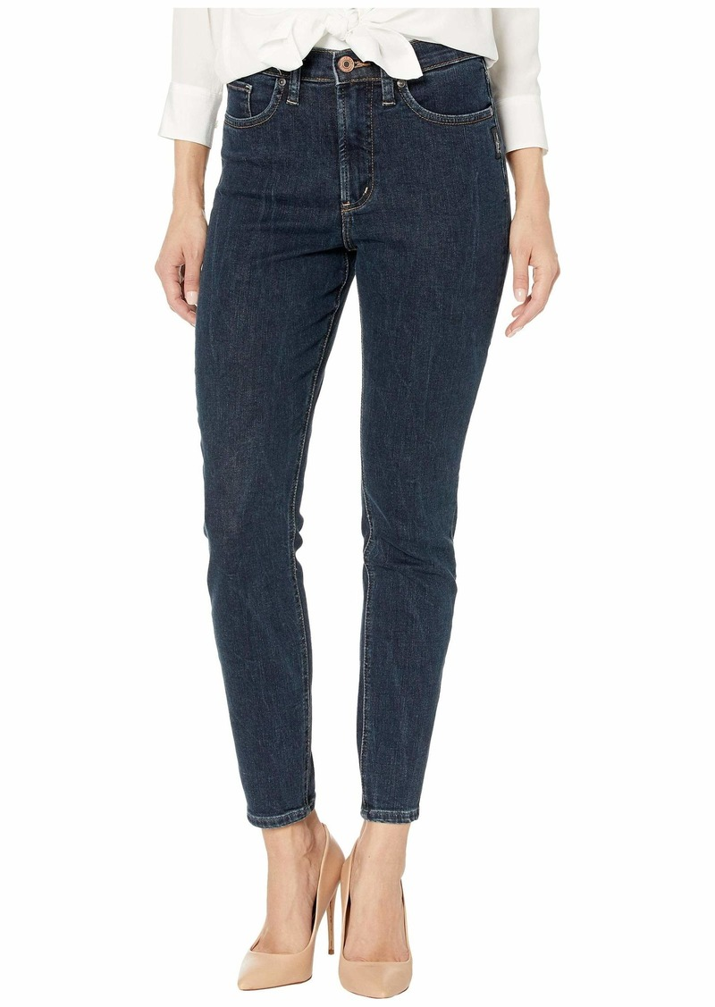 Silver Jeans Calley Super High-Rise Curvy Fit Skinny Jeans in Indigo L95101SDG454