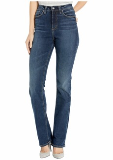 Silver Jeans Calley Super High-Rise Curvy Fit Slim Bootcut Jeans in Indigo L95614SDG457