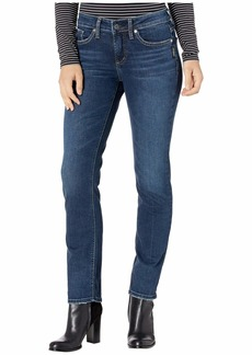 Silver Jeans Elyse Mid-Rise Curvy Fit Slim Leg Jeans L03333SDK472