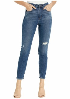 Silver Jeans Frisco High-Rise Skinny Jeans in Indigo L28104SFV319