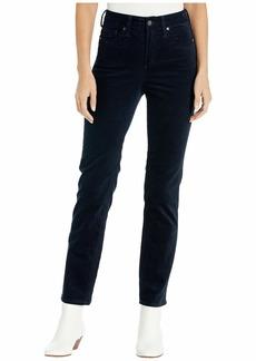 Silver Jeans High Note High-Rise Slim Leg Corduroy Pants