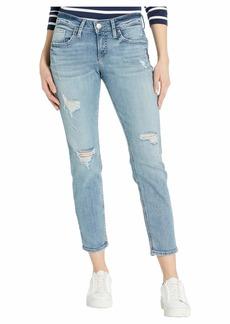 Silver Jeans Mid-Rise Slim Leg Boyfriend Jeans L27172SJL296