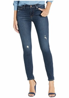 Silver Jeans Most Wanted Mid-Rise Skinny Jeans in Indigo L63022SDG338