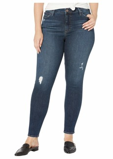 Silver Jeans Plus Size Most Wanted Mid-Rise Skinny Leg Jeans in Indigo