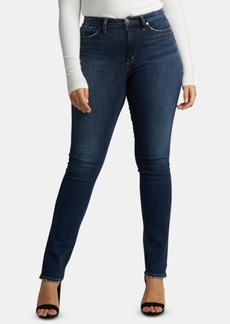 Silver Jeans Calley Straight-Leg Jeans