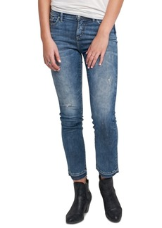 Silver Jeans Co. Aikins Straight-Leg Ankle Jeans