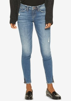 Silver Jeans Co. Aiko Zip Ankle Skinny Jeans
