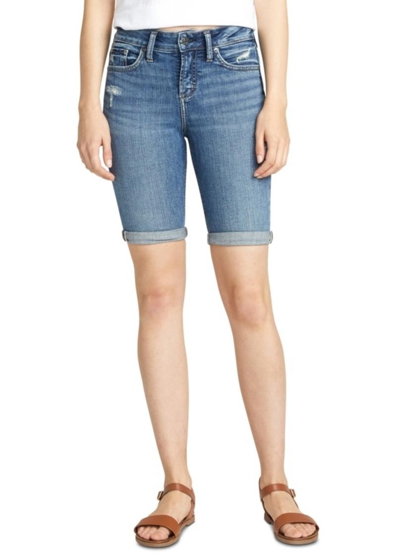 Silver Jeans Co. Avery Bermuda Denim Shorts