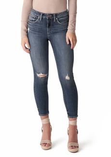 Silver Jeans Co. Avery Crop Skinny Jeans