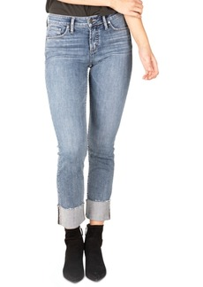 Silver Jeans Co. Avery Curvy-Fit Straight-Leg Jeans