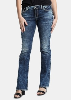 Silver Jeans Co. Elyse Mid-Rise Bootcut Jeans