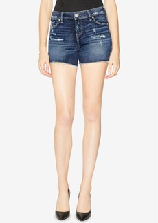 Silver Jeans Co. Elyse Ripped Denim Shorts