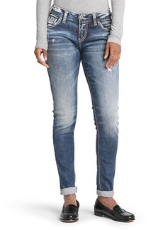 Silver Jeans Co. Girlfriend Distressed Jeans