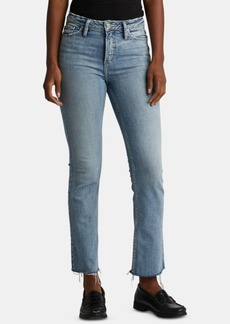 Silver Jeans Co. High Note Bootcut Ankle Jeans