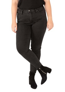 Silver Jeans Co. High Note High Waist Skinny Jeans (Plus Size)
