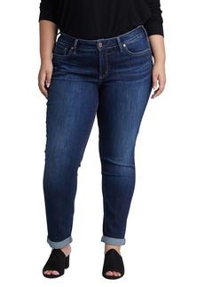 Silver Jeans Co. Boyfriend Jeans (Plus Size)