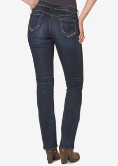 Silver Jeans Co. Suki Mid Rise Curvy Slim Bootcut Jeans