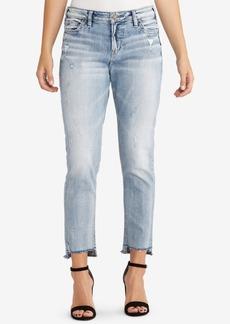 Silver Jeans Co. Loose Step-Hem Boyfriend Jeans