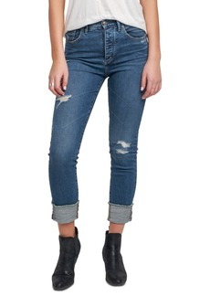 Silver Jeans Co. Maryland Ripped Mom Jeans