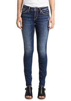Silver Jeans Co. Mid-Rise Contoured Skinny Jeans