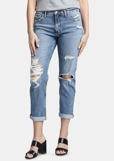 Silver Jeans Co. Not Your Boyfriend's Ripped Jeans