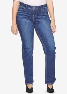 Silver Jeans Co. Plus Size Avery Slim Boot-Cut Jeans