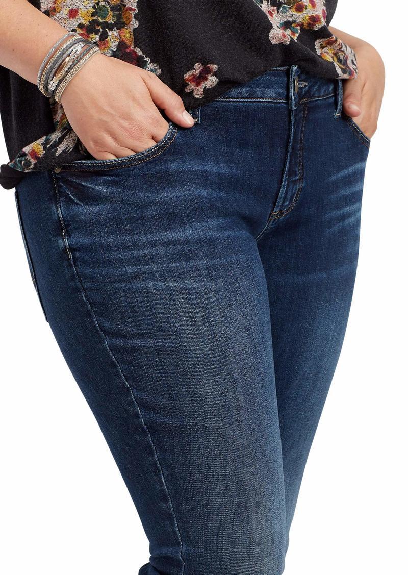 Silver Jeans Co. Plus Size Elyse Straight Leg Jean