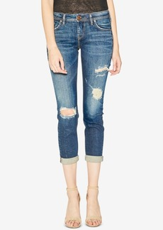 Silver Jeans Co. Sam Mid Rise Boyfriend Jeans