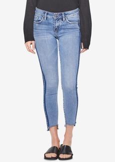 Silver Jeans Co. Side-Stripe Skinny Jeans