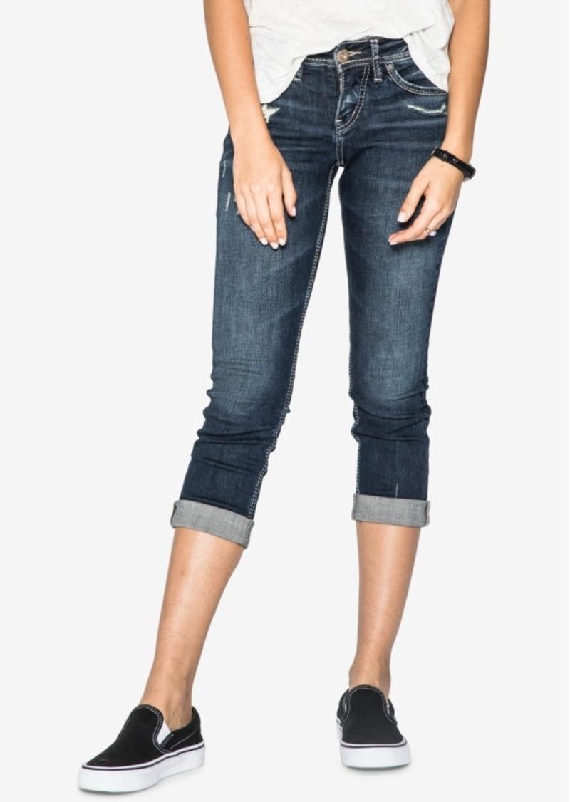 923d9ba7094ecf Silver Jeans Silver Jeans Co. Suki Mid Rise Curvy Capri