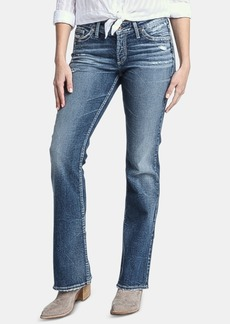 Silver Jeans Co. Suki Distressed Bootcut Jeans