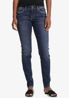 Silver Jeans Co. Suki Mid Rise Curvy Super Skinny Jeans
