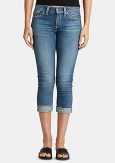 Silver Jeans Co. Suki Rolled Capri Jeans