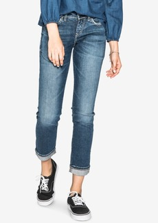 Silver Jeans Co. Suki Mid Rise Curvy Slim Ankle Jeans