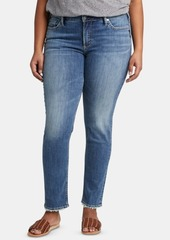 Silver Jeans Co. Trendy Plus Size Avery Curvy-Fit Slim-Leg Jeans
