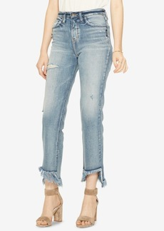 Silver Jeans Co. Vintage High Rise Straight Ankle Jeans
