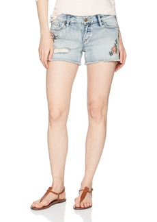 Silver Jeans Co. Women's Aiko Fit Mid Rise Shorts