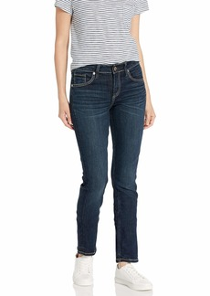 Silver Jeans Co. Women's Avery Curvy Fit High-Rise Straight Leg Jeans Dark Heritage wash 28x30