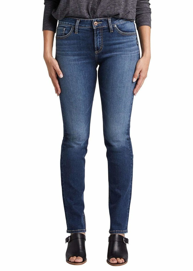Silver Jeans Co. Women's Avery Straight  27W x 32L
