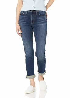 Silver Jeans Co. Women's Calley Mid Rise Straight Leg Jeans