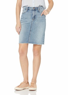 Silver Jeans Co. Women's Frisco Knee Length Pencil Skirt