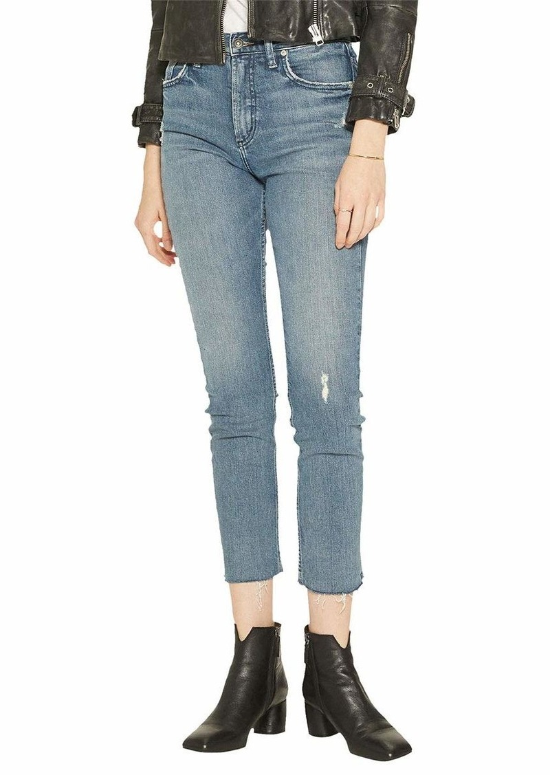 Silver Jeans Co. Women's Frisco Vintage High Rise Straight Leg Jeans  30x30