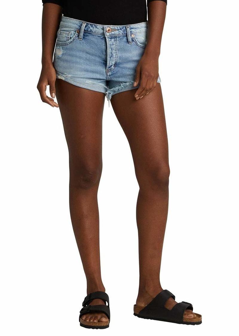 Silver Jeans Co. Women's Hello Shorty Denim Shorts