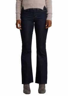 Silver Jeans Co. Women's Mazy High Rise Flare Jeans Stretch Rinse wash 31x32