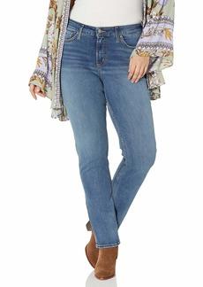 Silver Jeans Co. Women's Plus Size Avery Curvy Fit High Rise Straight Leg Jeans  18W X 33L