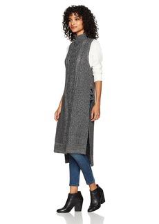 Silver Jeans Co. Women's Sabrina Sleeveless Sweater Tunic  L